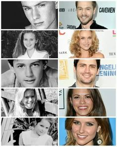 One Tree Hill -Lucas Scott (Chad Michael Murray) Peyton Sawyer (Hilarie Burton) Nathan Scott (James Lafferty) Haley James Scott (Bethany Joy) Brooke Davis (Sophia Bush)