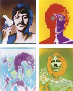 The Beatles, London, England by Richard Avedon: Dye transfer prints. #Beatles #Richard_Avedon #Print