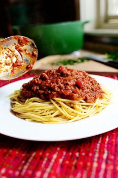 Pioneer Woman - spaghetti sauce