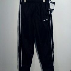 Nike black boys jogger pants Brand new with tags kids size 5-7 depending on height and body. Nike Pants Track Pants & Joggers