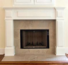 Fireplace Plans - Woodworking Plans and Projects  | WoodArchivist.com