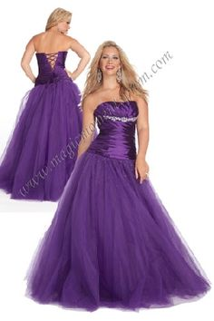 joli purple prom dress
