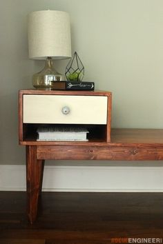 #DIY Vintage Telephone table project. Click thru for instructions to make it!
