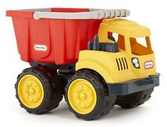 Little Tikes Dirt Diggers Dump Truck. Perfect for indoor or outdoor play. The Dump Truck's bed tilts It can also be removed and used as a bucket. Dump Trucks, Toy Trucks, Little Tikes, Digger, Outdoor Play, Make Time, Kids Playing, Time Tested, Creative Play