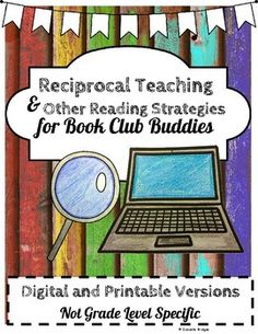 Reciprocal Teaching & Other Reading Strategies... by The Digital Daydreamer | Teachers Pay Teachers