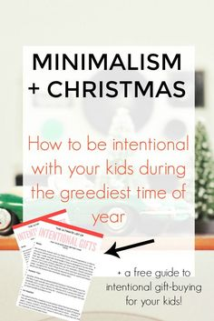 an intentional christmas how to give your kids a humble holiday meaningful christmas giftschristmas