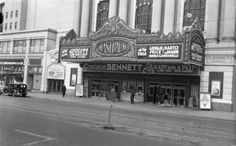 """Gala opening Feb 1929 1934 Samuel L Rothafel """"Roxy"""" was brought in to attract audiences, but 2 months later it was closed. It was closed and demolished in Movie Theater, Theatre, Camden New Jersey, Constance Bennett, Historic Philadelphia, Past, History, Architecture, Street"""