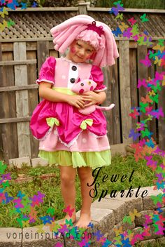 Vone Inspired » Jewel Sparkle – Lalaloopsy Costume