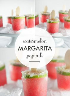 Spike Your Sweets: Watermelon Margarita Poptails