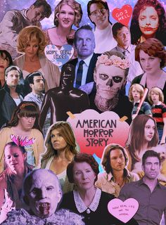 american horror story murder house collages - Pesquisa Google