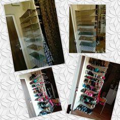 Dorm shoe storage
