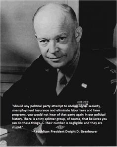 Check it out: http://www.snopes.com/politics/quotes/ike.asp  http://en.wikiquote.org/wiki/Dwight_D._Eisenhower