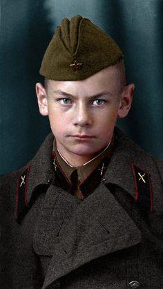 Юрий Ульянин, октябрь 1941 г.