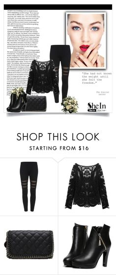 """""""Shein contest"""" by fashion-all-around ❤ liked on Polyvore featuring WithChic"""