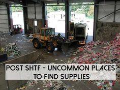 POST SHTF – Uncommon Places To Find Supplies - SHTF Preparedness