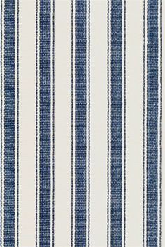 @rosenberryrooms is offering $20 OFF your purchase! Share the news and save!  Blue Awning Stripe Woven Cotton Rug #rosenberryrooms