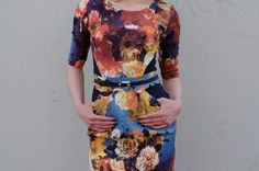 Be Chic Fashion dress spring - summer season 2016, beautiful mixing colors and flower prints picture #4