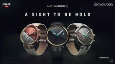 Asus comes up with ZenWatch 3 sporting 1.39 inch Round AMOLED display at INR…