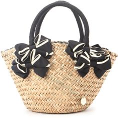 rougeloup ダブルリボンミニかごバッグ / Double Ribbon Mini-Basket Bag on ShopStyle