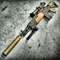 Suppressed M1A