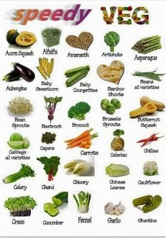 Speedy veg