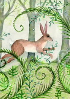 Roger la Borde | Greeting Card by Jane Ray (GC 1232)