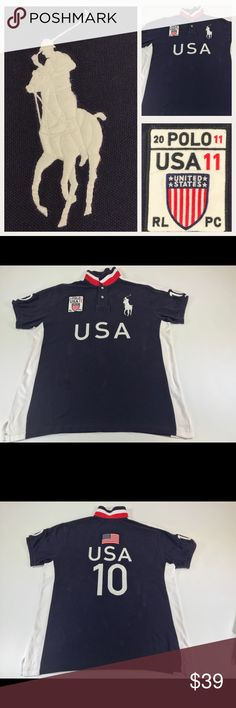1e00399aa1f This item is considered Vintage and due to the age there might be some  signs of age. Polo by Ralph Lauren Shirts Polos