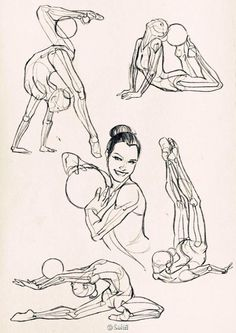 Anatomical studies and sketches fashion illustration draw, art reference e Gesture Drawing, Body Drawing, Anatomy Drawing, Anatomy Art, Life Drawing, Yoga Anatomy, Anatomy Sketches, Drawing Tips, Drawing Techniques