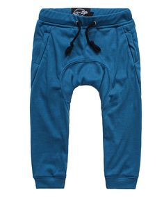 Look at this Blue Skinny Joggers - Toddler & Boys on #zulily today!