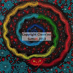 dreamtime stories - Chernee Sutton - Contemporary Aboriginal Art