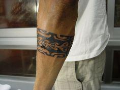 Maori szalag alkaron Maori belt on the arm
