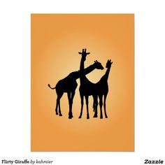 Flirty Giraffe Perfe