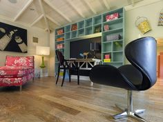 Colorful Teen Retreat - Anne Rue's Design Portfolio on HGTV