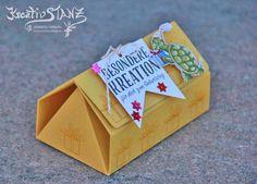 KreativStanz Stempelset Geburtstagskreation und Designerpapier Nostalgischer Geburtstag von Stampin' Up! Verpackung Origami Haus Box #stampinup #origami http://kreativstanz.bastelblogs.de/