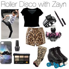 Roller Disco with Zayn - Polyvore