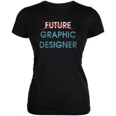 Graduation - Future Graphic Designer Juniors Soft T Shirt