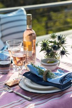 Lexington Spring 2018 Home. Striped Napkin. Stripes will never go out of style so the 100% cotton Lexington Striped Napkin with its soothing colors and clean edges is sure to please and charm everyone as dinner is being prepared in the kitchen.