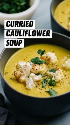 Healthy Soup Recipes, Healthy Meal Prep, Whole Food Recipes, Cooking Recipes, Summer Soup Recipes, Creamy Soup Recipes, Broccoli Soup Recipes, Healthy Eats, Vegetarian Soup