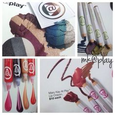 Loving these new products. Get yours today and look fabulous!! Best part they are all $10. Beauty at a budget!!  www.marykay.com/dgonzalez1020 ‪#‎mk‬ #beauty‬ ‪#‎atplay‬ ‪#‎makeup‬