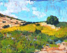 Crystal Cove Laguna Beach California Landscape by KevinInmanArt, $250.00