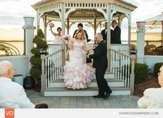 Anthony's Oceanview Wedding by VO Photographers Sunset Beach Weddings, Wedding Dj, Lifestyle Photography, Photographers, Floral Design, Cottage, Gowns, Stylish, Cake