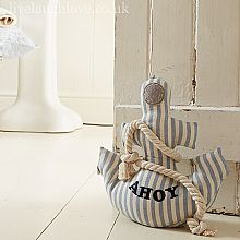Incroyable Anchor Door Stop   Ahoy Diy Doorstop, Trava Porta, Deco Marine, Fabric Decor