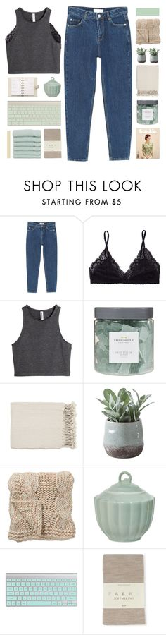"""""""i never had thoughts that control me"""" by darkdiamonds-1 ❤ liked on Polyvore featuring MANGO, Talula, H&M, Threshold, Surya, Torre & Tagus, Louis Vuitton, Bloomingville, Falke and Linum Home Textiles"""