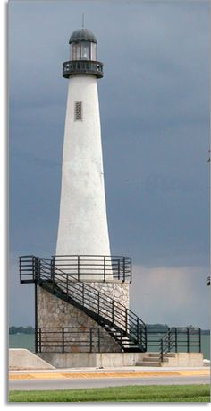 Rotary Lighthouse on Grand Lake St. Marys, Celina, Ohio