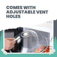 Transparent Microwave Splatter Cover