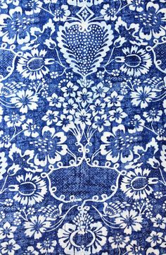 "Ralph Lauren ""La Garoupe Indigo"" Fabric"