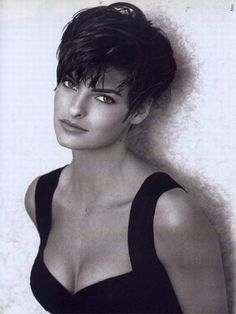 Legendary model, Linda Evangelista. Worth the price of a non-sports magazine...at any price!