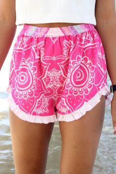 Mandala Shorts