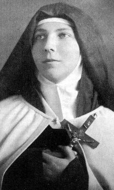 Saint Teresa of Los Andes pray for us and all young people.  Feast day April 12.