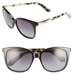 999b13e11414 Women s Kate Spade New York Julieanna Polarized Sunglasses - Black Havana   affiliate link . StylishOffer · Accessories